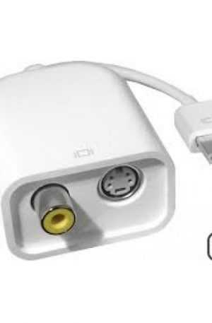 Adaptador Apple Micro-DVI to video